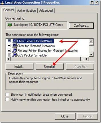 פיטילון שרותי מחשוב - ביטול שרות הלקוח של NetWare