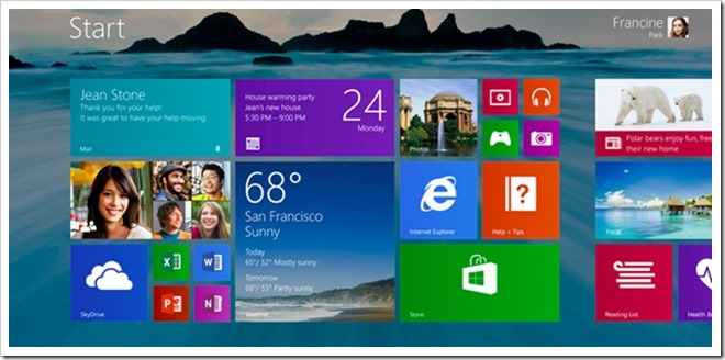 שירותי מחשוב - Windows 8.1